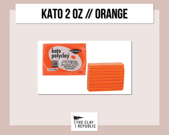 Kato Polyclay 2 oz - Orange