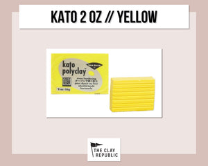 Kato Polyclay 2 oz - Yellow