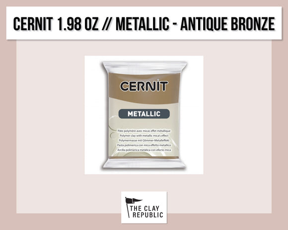 Cernit 1.98 oz - 56g - Metallic - Antique Bronze