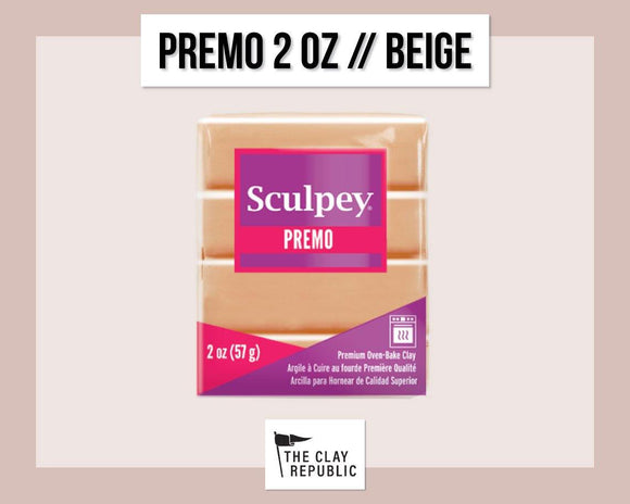 Sculpey Premo 2 oz - Beige - The Clay Republic