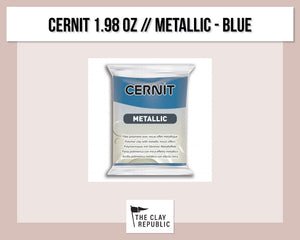 Cernit 1.98 oz - 56g - Metallic - Blue