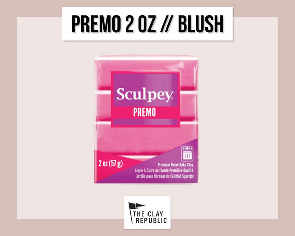 Sculpey Premo 2 oz - Blush - The Clay Republic