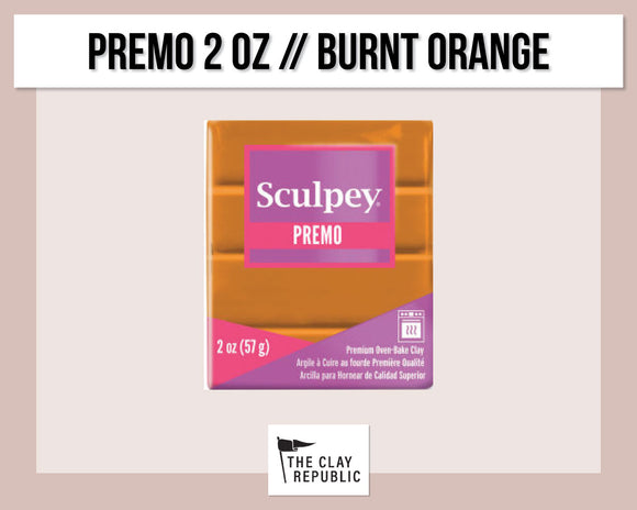 Sculpey Premo 2 oz - Burnt Orange