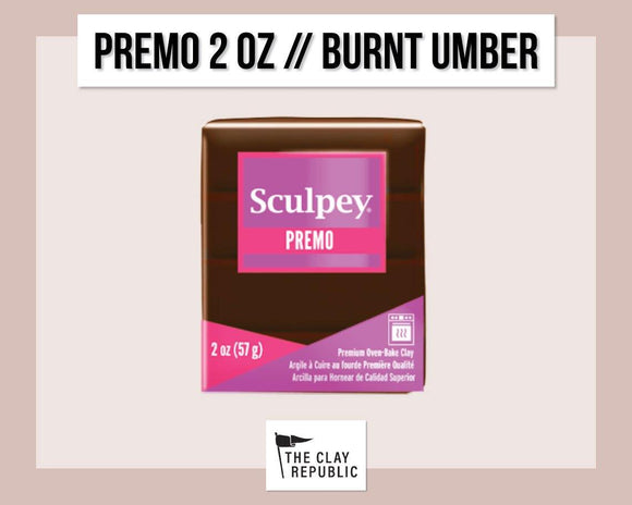 Sculpey Premo 2 oz - Burnt Umber
