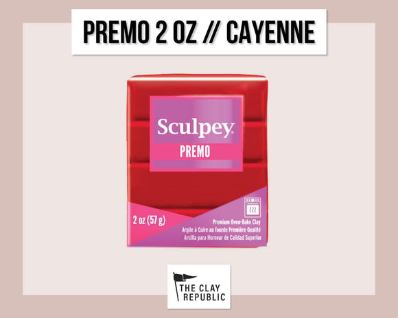 Sculpey Premo 2 oz - Cayenne - The Clay Republic