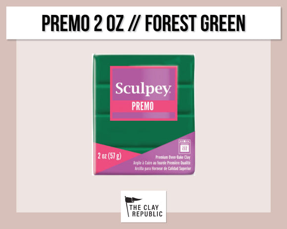 Sculpey Premo 2 oz - Forest Green