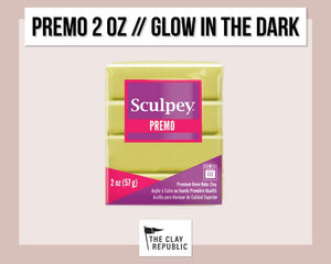 Sculpey Premo 2 oz - Glow in the Dark