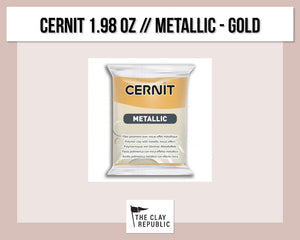 Cernit 1.98 oz - 56g - Metallic - Gold