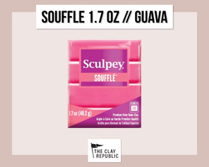 Sculpey Souffle 1.7 oz - Guava - The Clay Republic