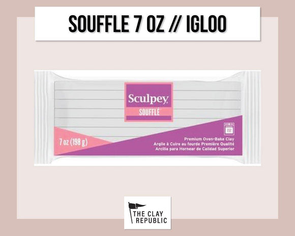Sculpey Souffle 7 oz - Igloo [LARGER SIZE]