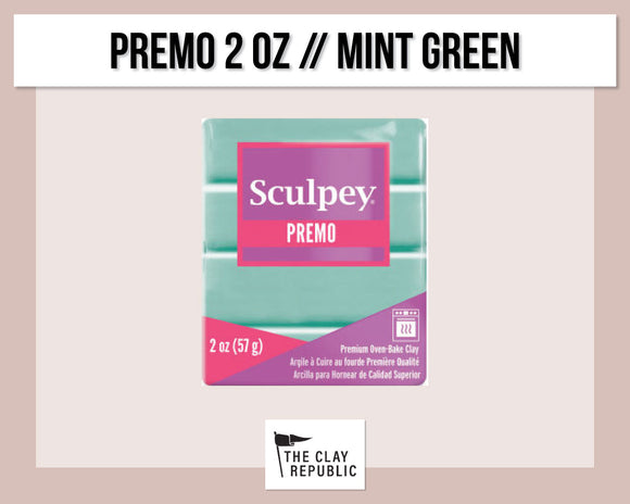 Sculpey Premo 2 oz - Mint Green