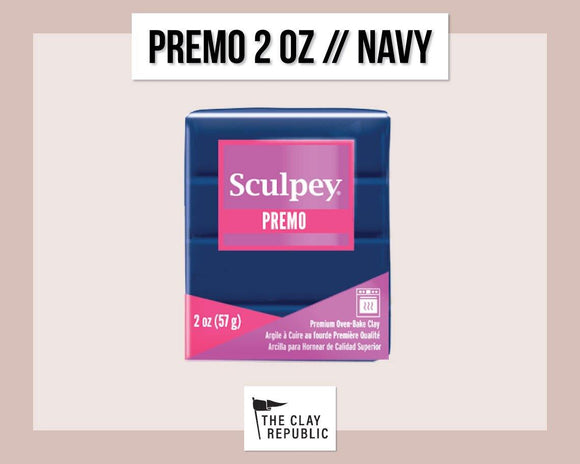 Sculpey Premo 2 oz - Navy
