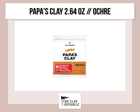 Papa's Clay 2.64 oz - OCHRE