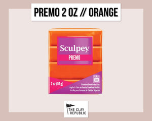 Sculpey Premo 2 oz - Orange