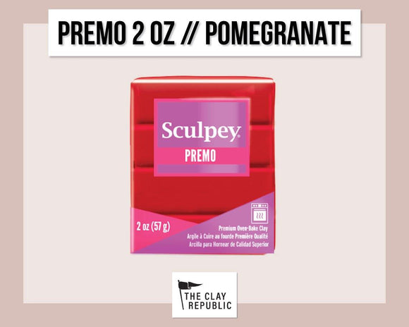 Sculpey Premo 2 oz - Pomegranate
