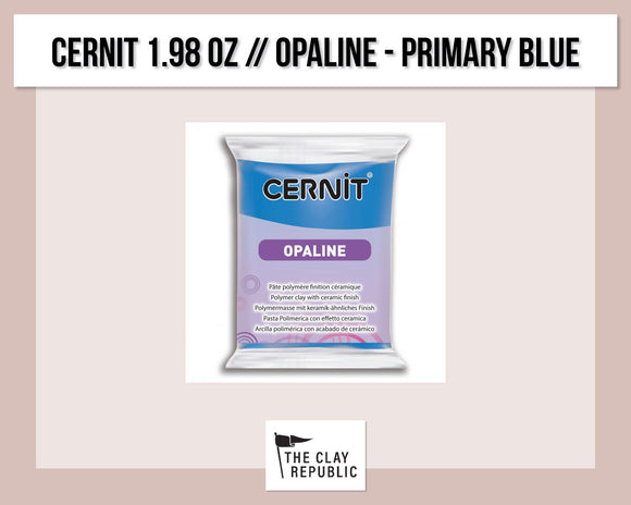 Cernit 1.98 oz - 56g - Opaline - Primary Blue