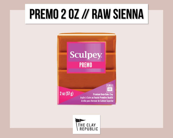 Sculpey Premo 2 oz - Raw Sienna