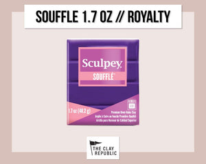 Sculpey Souffle 1.7 oz - Royalty - The Clay Republic
