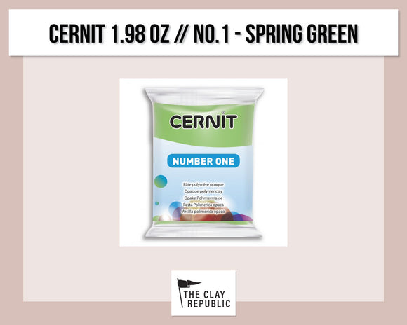 Cernit 1.98 oz - 56g - No. 1 - Spring Green