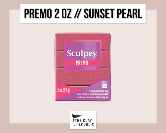 Sculpey Premo 2 oz - Sunset Pearl