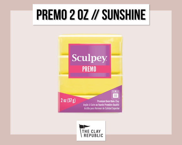 Sculpey Premo 2 oz - Sunshine - The Clay Republic
