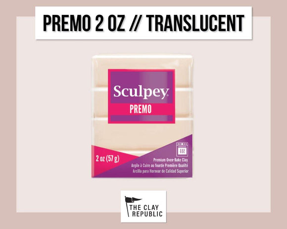 Sculpey Premo 2 oz - Translucent