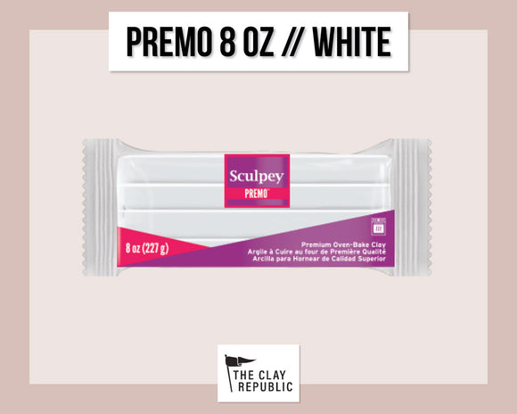Sculpey Premo 8 oz - White