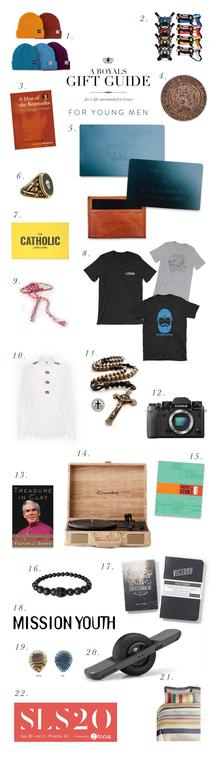 2019 Gift Guide - Young Men
