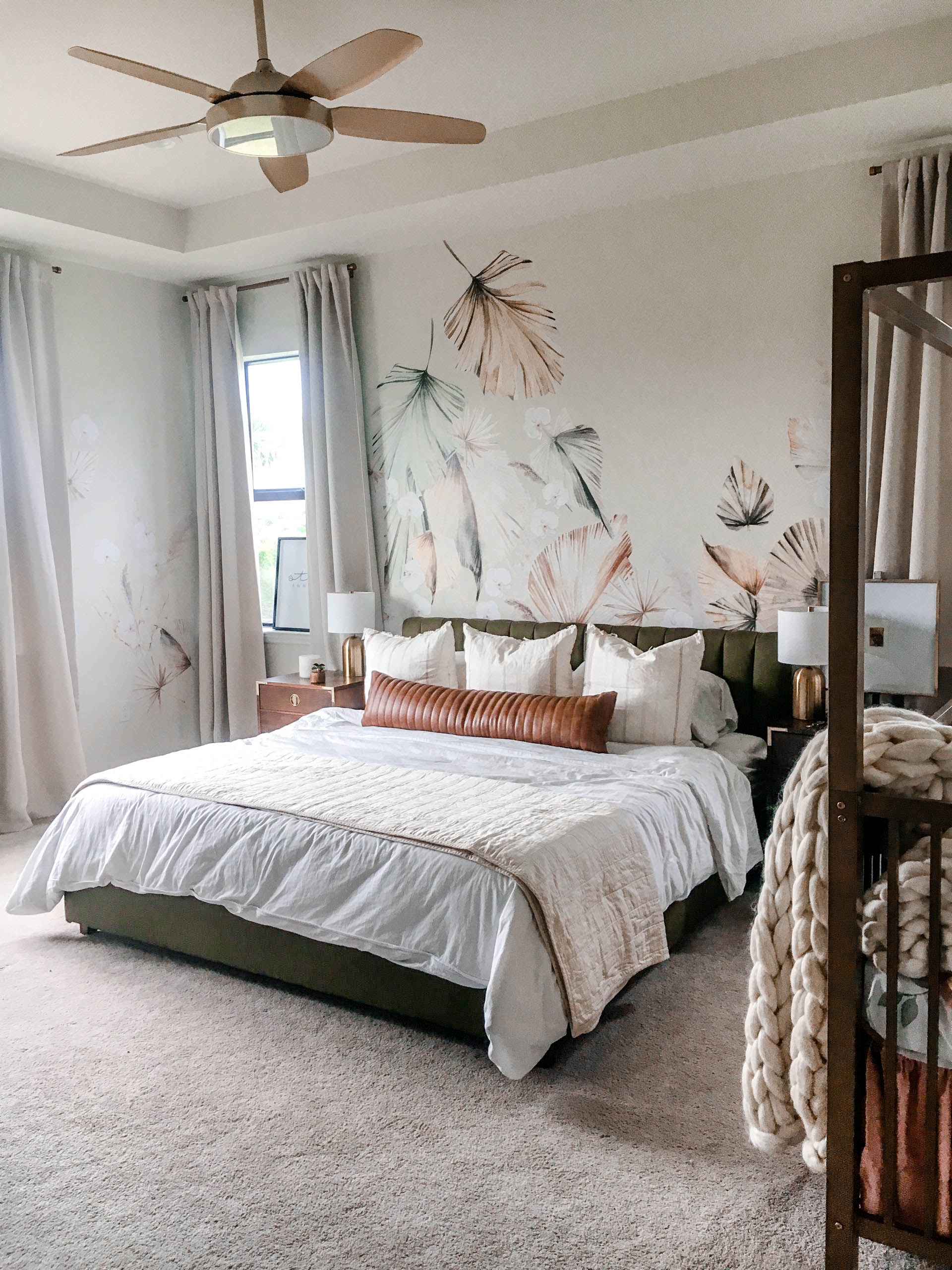 Decorating A Luxe, Organic Master Bedroom with Lisa Canning