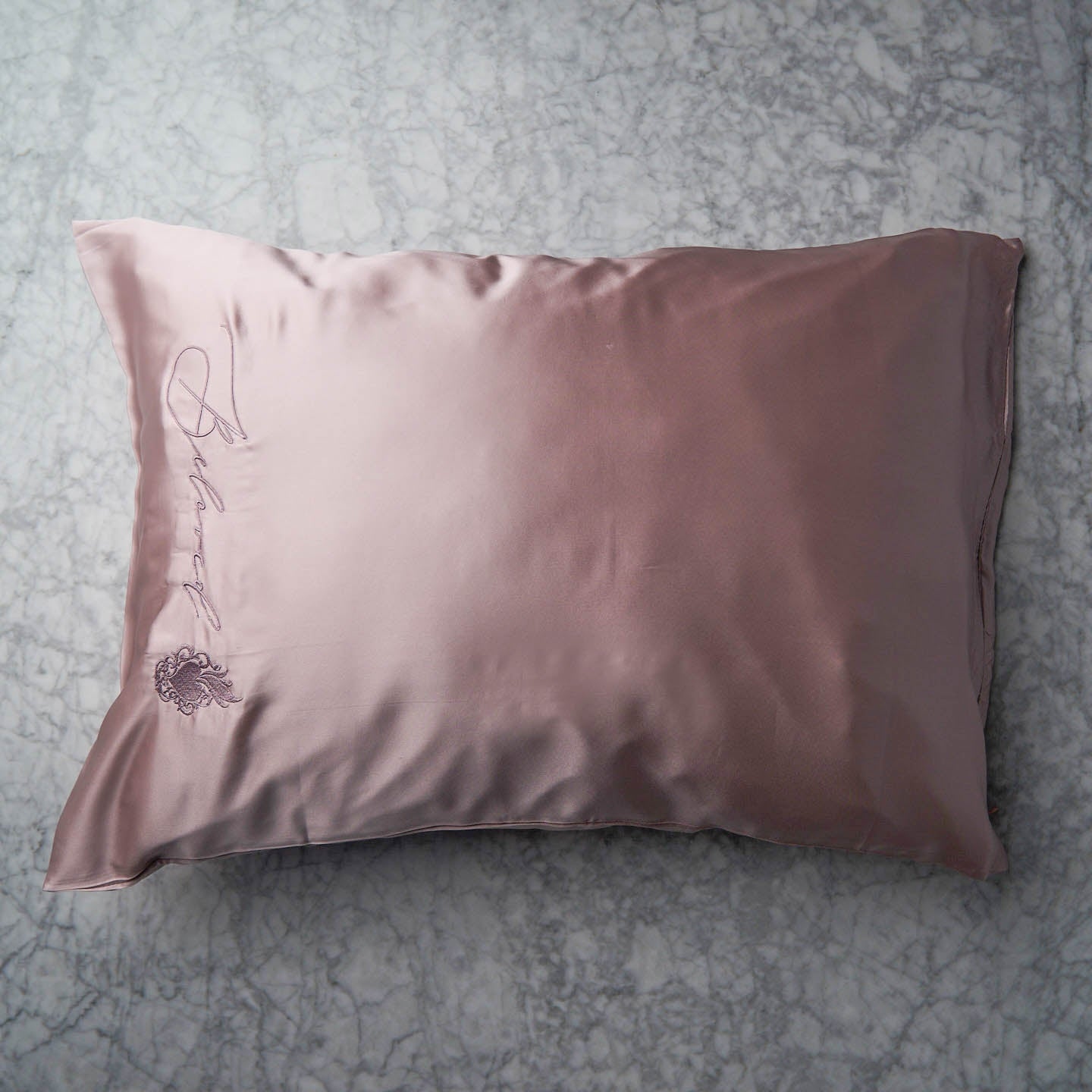 Beloved Mulberry Silk Pillowcase - Mauve
