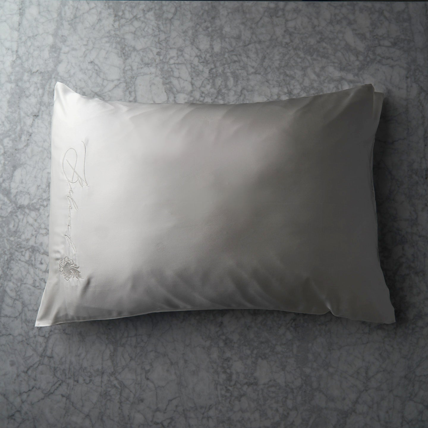 Beloved Mulberry Silk Pillowcase - White