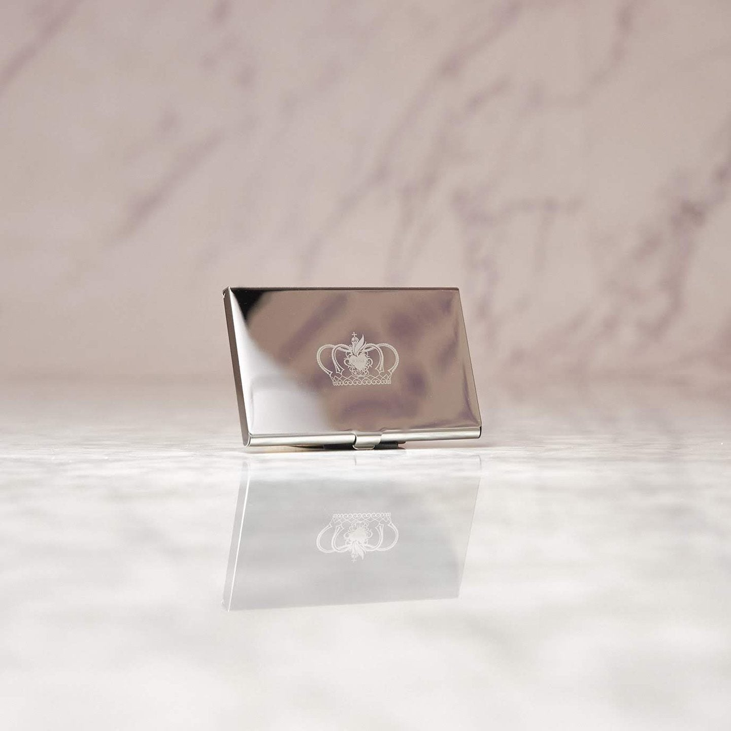 Pack of Blessings with Royals Stainless Steel Card Holder
