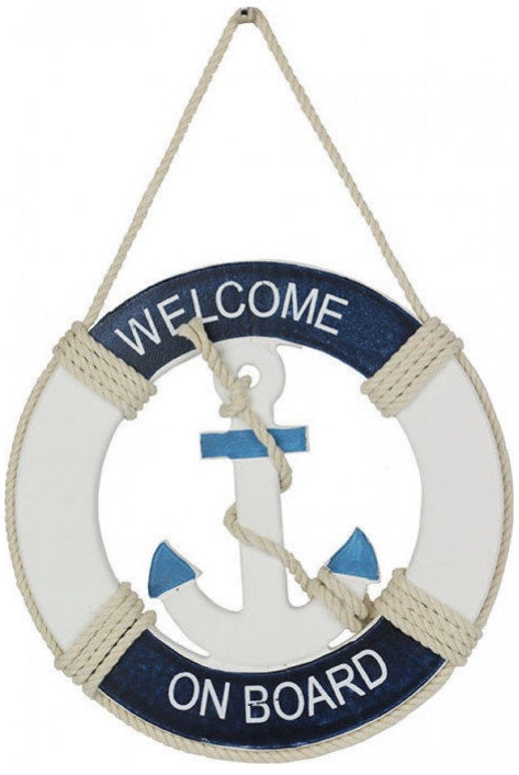 Life Buoy - Welcome Aboard