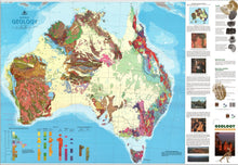 Load image into Gallery viewer, Wall/Flat Maps of Australia