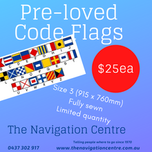 Load image into Gallery viewer, Pre-loved International Code Flags