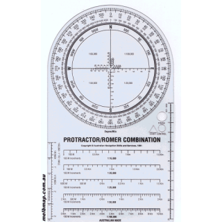 Protractor/Romer Combination