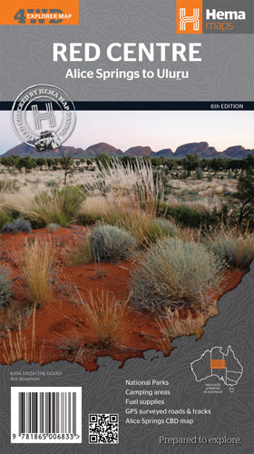 Red Centre 6th Edition