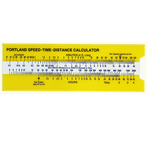 Speed Time Distance (STD) Calculator/Slide Rule
