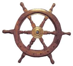 Wooden Ships Wheels (replicas)