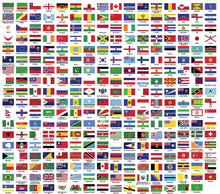 Load image into Gallery viewer, Flags of the World