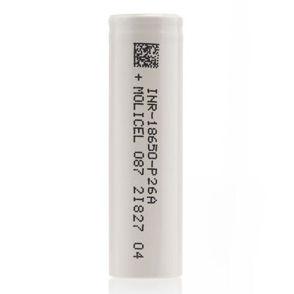 Molicel P26A 18650 Battery in Case
