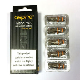 Aspire Triton Mini 1.8 ohm Clapton Coils (5-Pack)