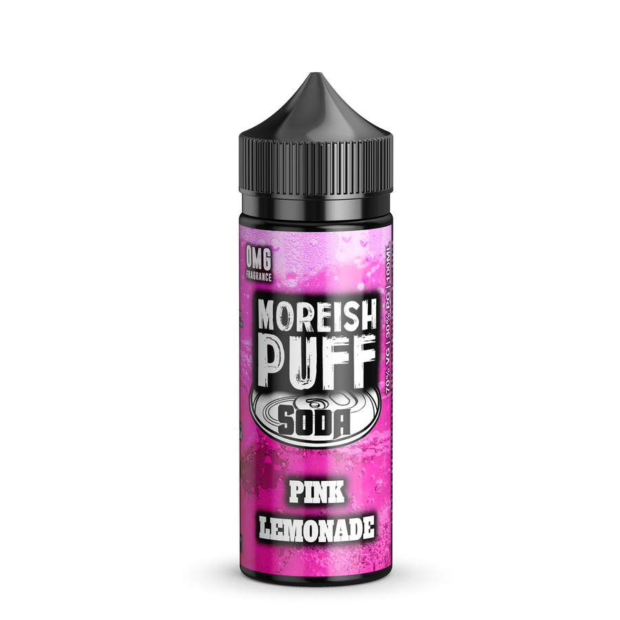 Pink Lemonade Soda - 100ml Moreish Puff Vape E-Liquid