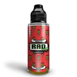 Rad Juice Raspberry Batton Sweets