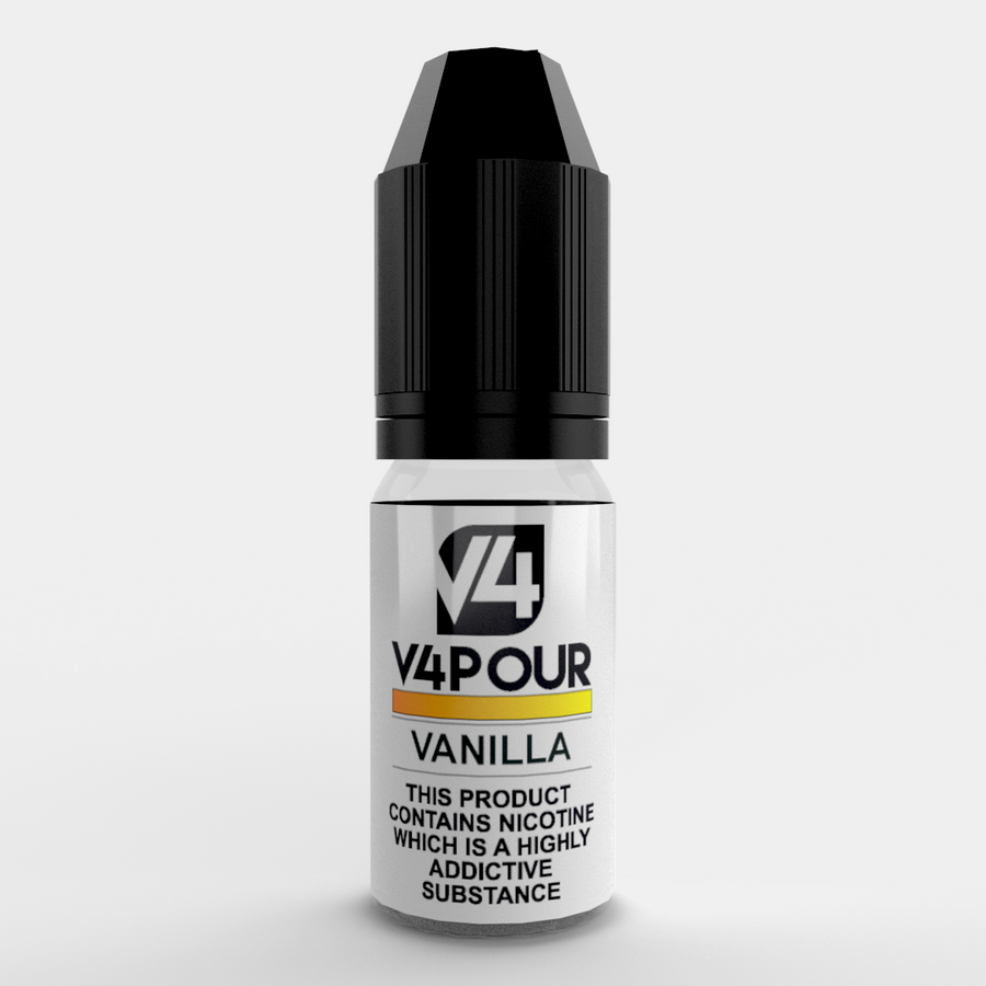 V4 Vanilla - 10ml Vape E-Liquid