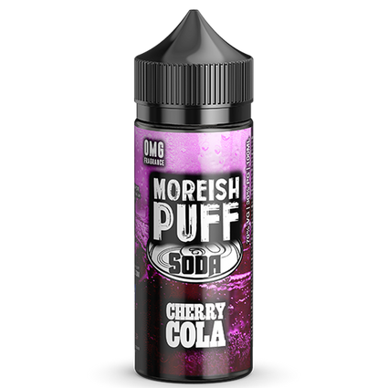 Cherry Cola Soda - 100ml Moreish Puff Vape E-Liquid