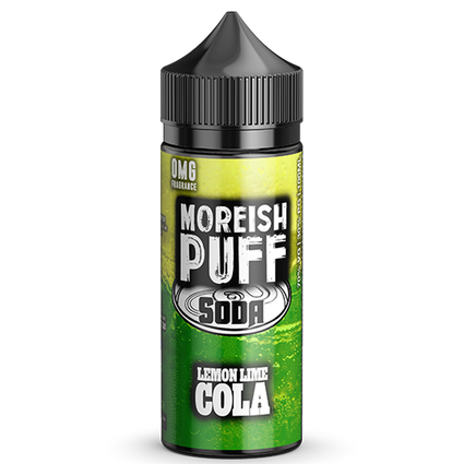 Lemon/Lime Cola Soda - 100ml Moreish Puff Vape E-Liquid