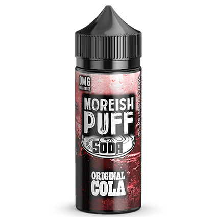 Original Cola Soda - 100ml Moreish Puff Vape E-Liquid