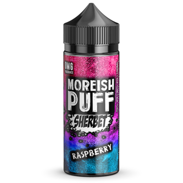 Raspberry Sherbet  - 100ml Moreish Puff Vape E-Liquid