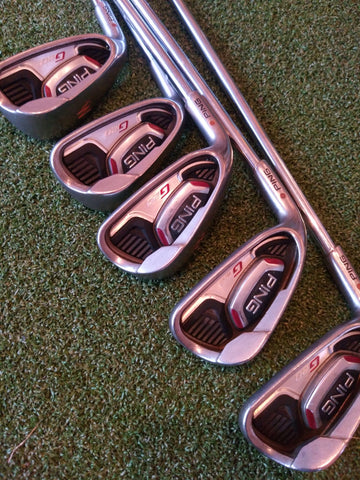 Ping G20 Iron set - LEFT HAND - 6 to PW